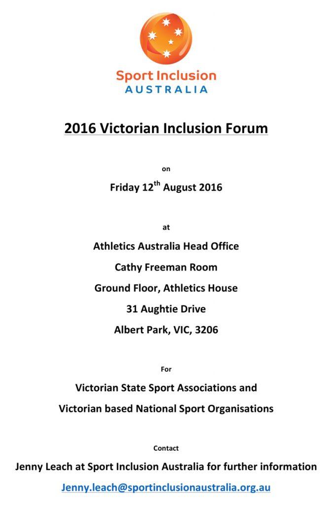 2016VicInclusionForum