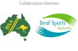Collaboration Partners: Blind Sport Australia and Deaf Sports Australia
